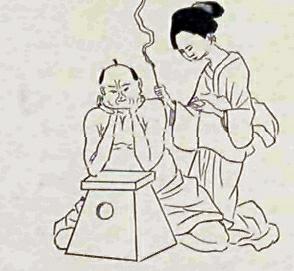 お灸江戸時代